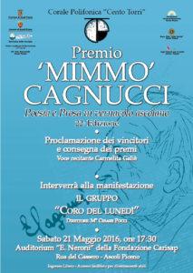Locandina Cagnucci 2016