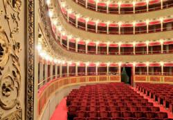 Un'immagine dell'interno del Teatro Valle