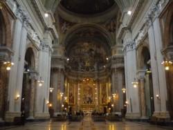 Visone della navata di Sant'Ignazio