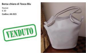 AA 015 borsa chiara di Tosca blu