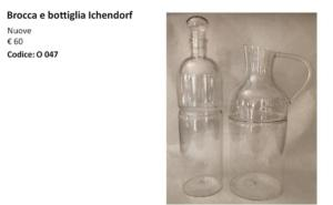 Brocca e bottiglia Ichendorf