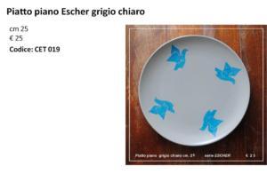 CET 019 piatto piano Escher