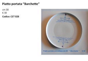 CET 028 piatto portata Barchette