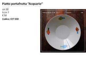 CET 030 Portafrutta acquario