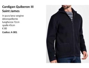 A001 Cardigan Quiberon Saint James III