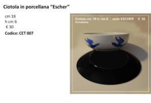 CET 007 Ciotola Escher