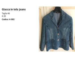 A002 Giacca jeans