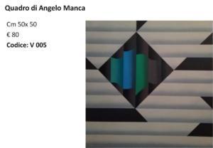 V 005 Quadro di Angelo Manca